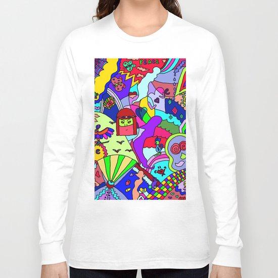 Abstract 26 Long Sleeve T-shirt