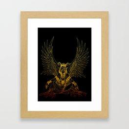 Atticus Dawnstar Line Framed Art Print