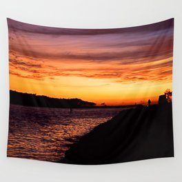 Gold Coast  Sunrise Wall Tapestry