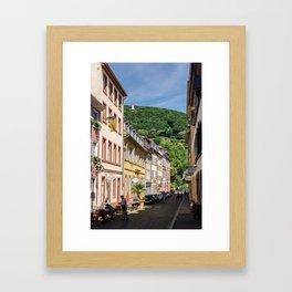 Heidelberg Hills Framed Art Print
