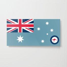 Air Force Ensign of Australia  Metal Print