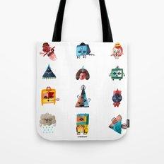 Monster Shapes Tote Bag