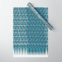 Cubist Ornament Pattern Wrapping Paper