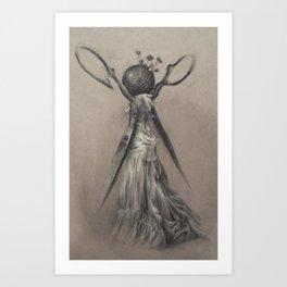 Scissoress Pinhead Art Print