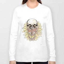 SkullFlower Long Sleeve T-shirt