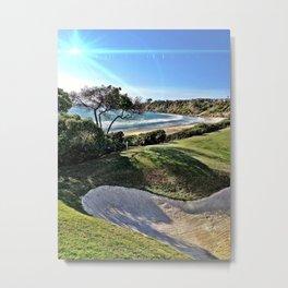 Golfing at Monarch Beach. Metal Print