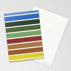 The colors of - Castle in the sky Stationery Cards