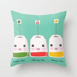 what's your flavour Throw Pillow
