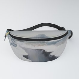Icy River by Lu Fanny Pack