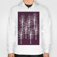 forrest Hoodies featuring Ghost Forrest by Helle Gade