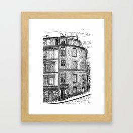 The old buildings of Paris, 1932 Framed Art Print