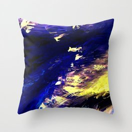 Abstract Midnight Dancer by Robert S. Lee  Throw Pillow