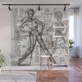 Clone Death - Intaglio / Printmaking Wall Mural