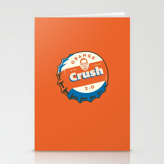 Denver's Orange Crush Defense TWO POINT OH! Stationery Cards