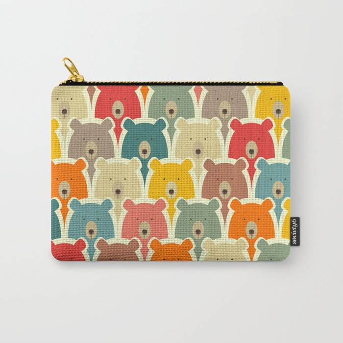 Bears cartoon pattern Carry-All Pouch
