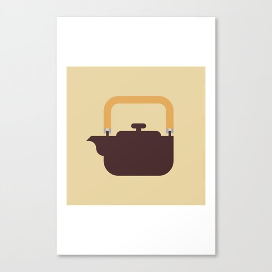 Japan Teapot Canvas Print