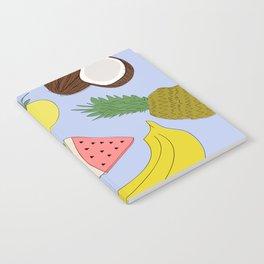 Fruit! in Sky Blue Notebook