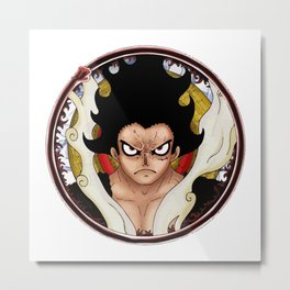 Luffy the 5th Emperor Metal Print