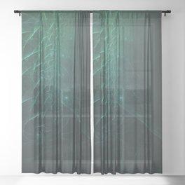 Geometric Cosmic Light 136 Sheer Curtain