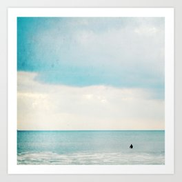 The surf, revisited Art Print