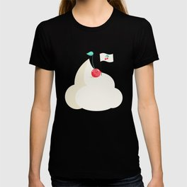 Cherry on top (of the whipped cream mountain) T-shirt