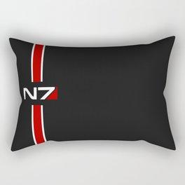 Mass Effect N7 emblem Rectangular Pillow