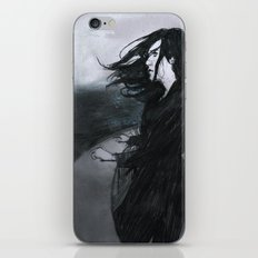 O mar eram nuvens iPhone & iPod Skin