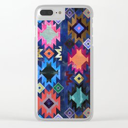 Kilim Kind 6B Clear iPhone Case