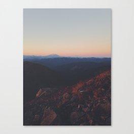 Hazy Helens Canvas Print