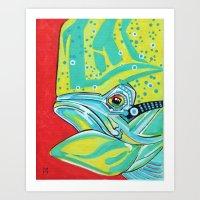 Mr. Big Mahi Art Print