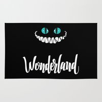 alice wonderland Area & Throw Rugs featuring Wonderland by Insait