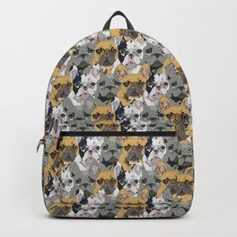 Triple Frenchies Backpack
