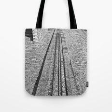 Train Line Tote Bag