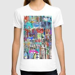 COLLAGE MASH-UP I T-shirt