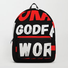 Worlds okayest God Father Backpack