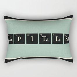Capitalism  Rectangular Pillow