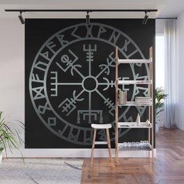 Vegvísir (Icelandic 'sign post') Symbol - REEL STEEL Wall Mural