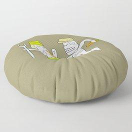 Farm fight : idokungfoo.com Floor Pillow