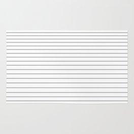 Gray Stripes 1 Rug