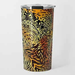 Africa style pattern Travel Mug