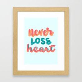 2 Cor 4:16 Framed Art Print