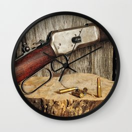 Winchester Model 53 Wall Clock