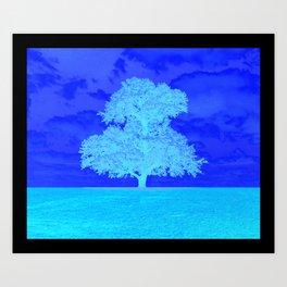 Double Tree Art Print