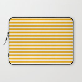 Striped Yellow Laptop Sleeve