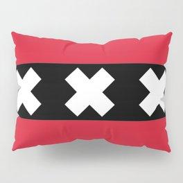Flag of Amsterdam Pillow Sham