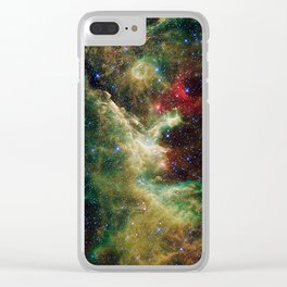 Heart of Cepheus Clear iPhone Case