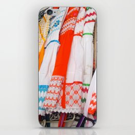 MEXICO CLOTHESLINE iPhone Skin