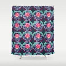 HUKUMU - peacock Shower Curtain