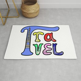 Travel the world Rug