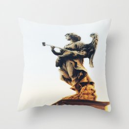 Angels are Watching Throw Pillow